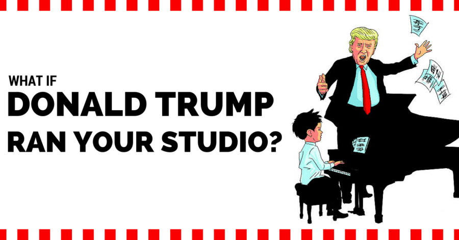 What If Donald Trump Ran Your Music Studio?