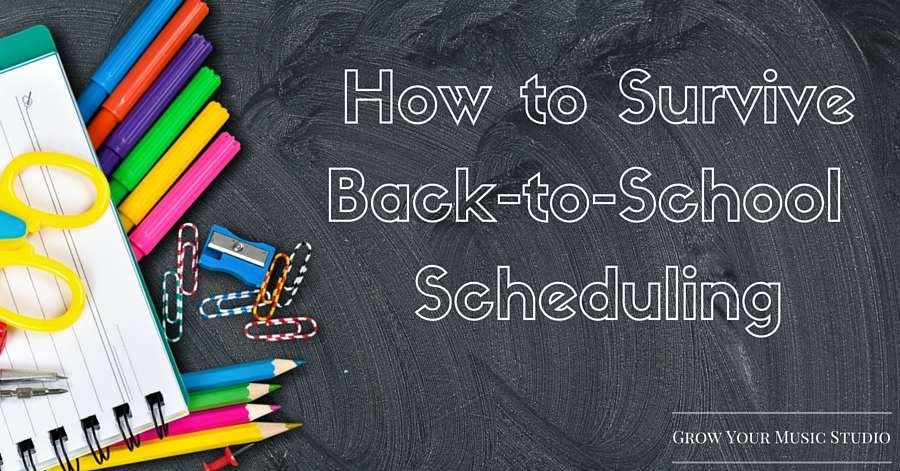 How to Survive Back-to-School Scheduling