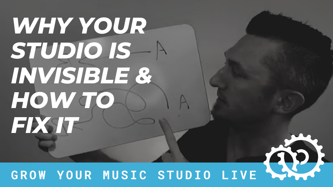 Why Your Studio Is Invisible… And How to Fix It!!!